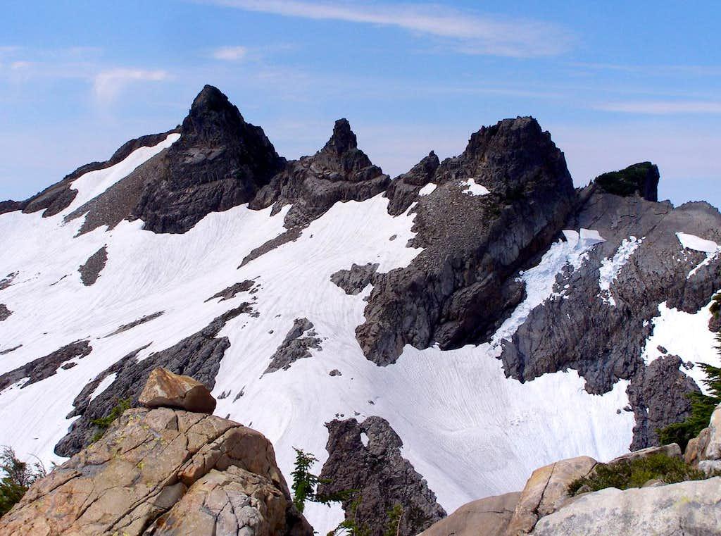 Gothic Peak Crags