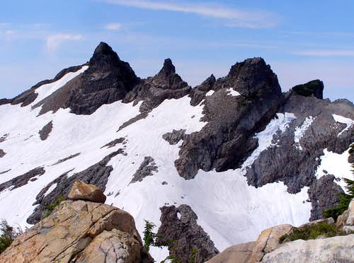 Gothic Peak Crags