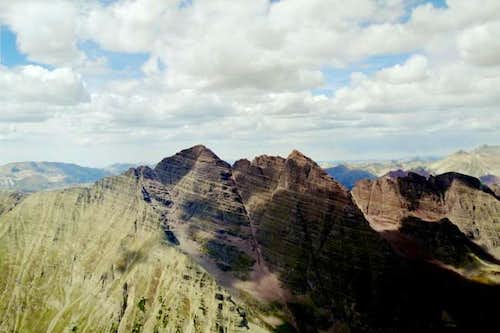 View of the Maroon Bells from...