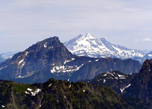Sloan and Glacier