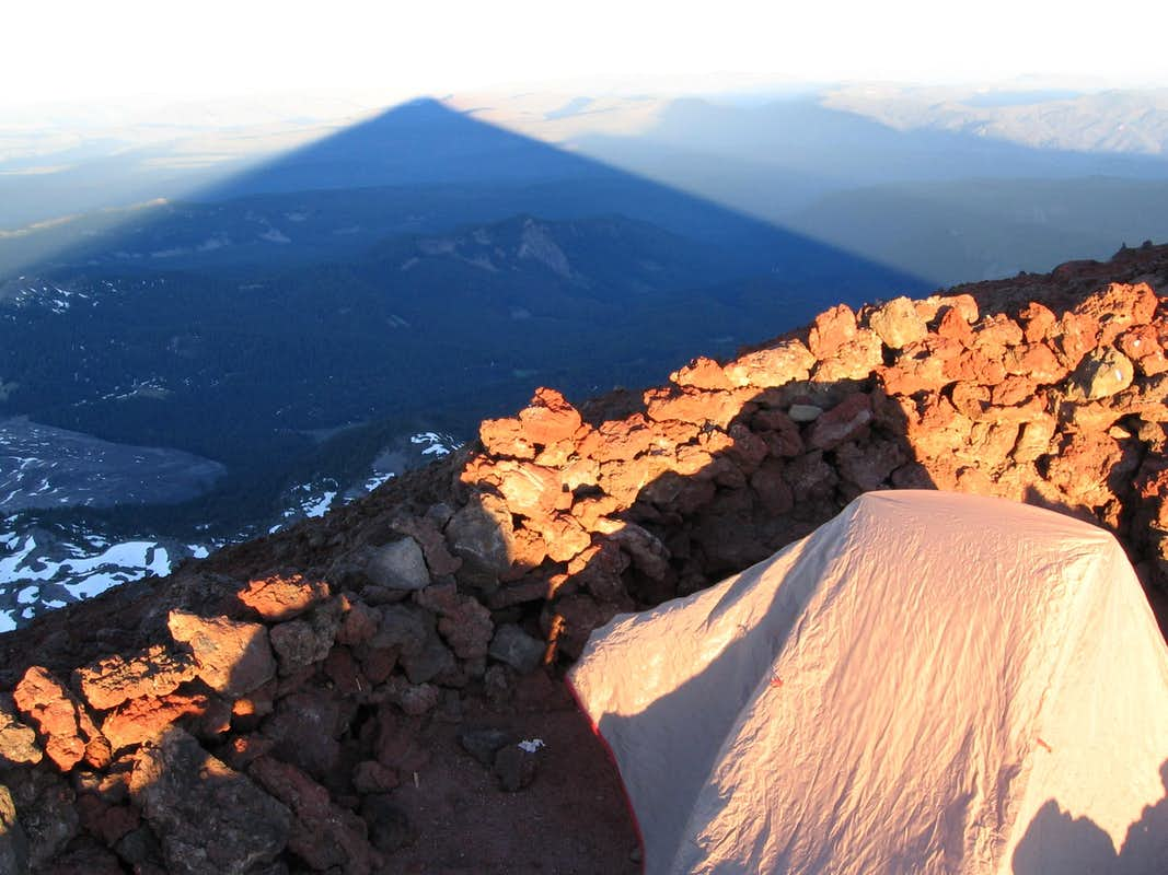 Summit bivy on S. Sister