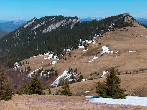 The Čierny Kameň limestone outcrops