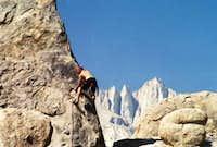 Climbing Shark's Fin with...