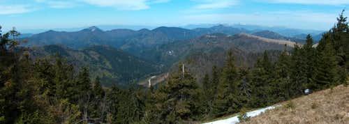 Views into Ľubochnianska Dolina, Slovakia's longest valley