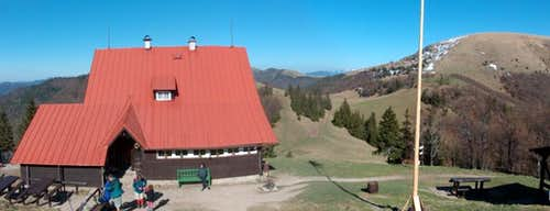 The mountain-hut <a href= http://hiking.sk/hk/ar/30/chata_pod_borisovom.html >Chata pod Borišovom</a>, said by some to be Slovakia s finest.