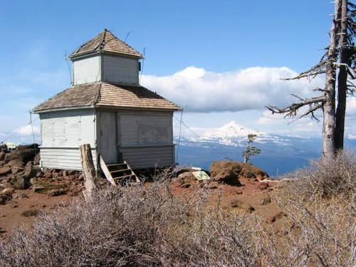 Old lookout on Black Butte...