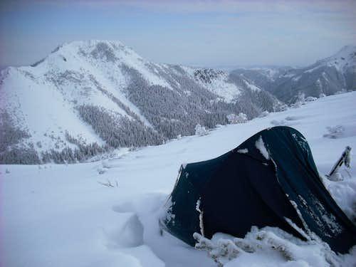Winter bivy in West Tatra