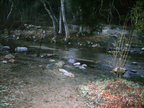 Agua Tibia - Arroyo Seco Creek