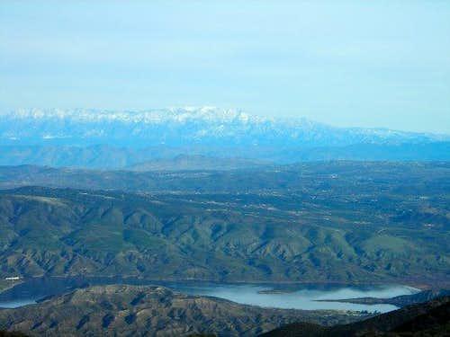Agua Tibia - View of San Gorgonio