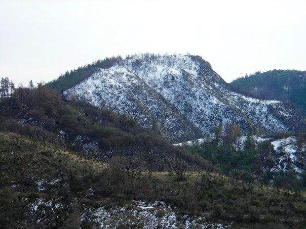 Eagle Crag  - from trail at saddle
