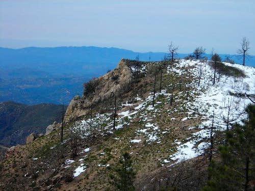 Eagle Crag  from ridge
