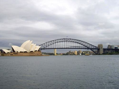 The Opera House and Sydney Harbour Bridge