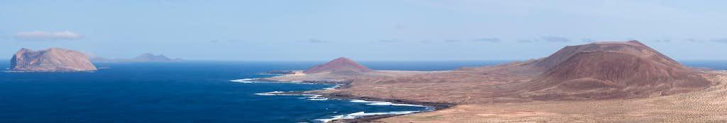 Summit view Archipelago Chinijo