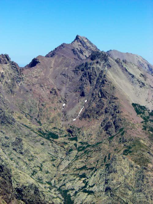 Traversing Monte Cinto