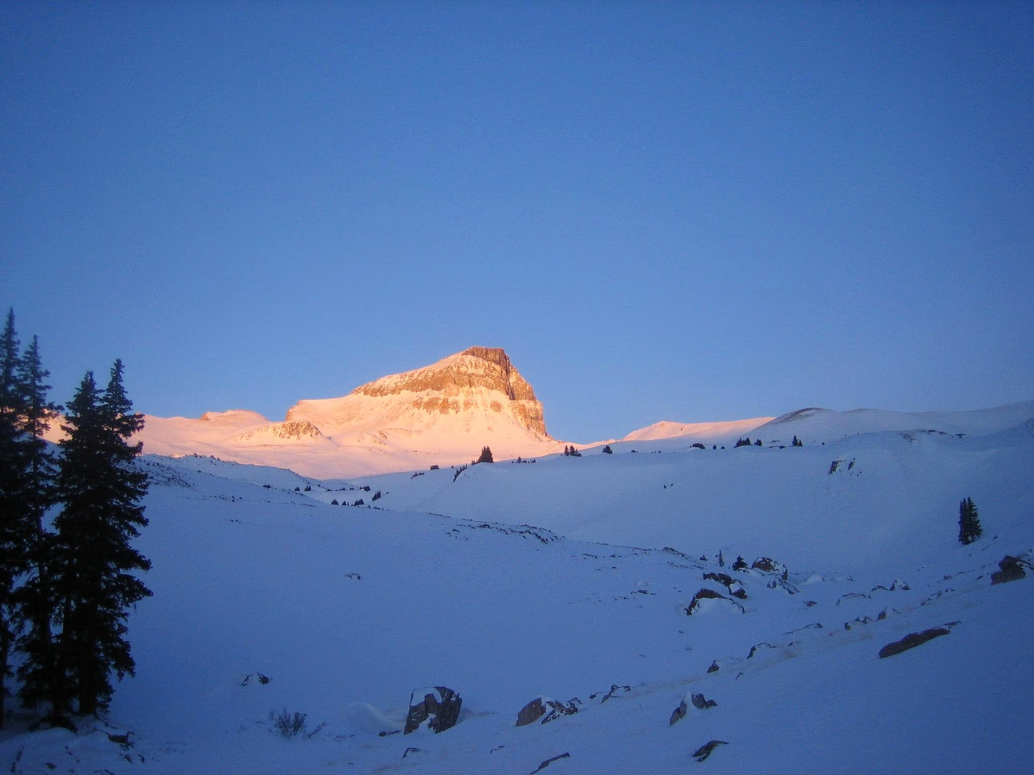 Winter in the San Juans - Uncompahgre 02/15/09