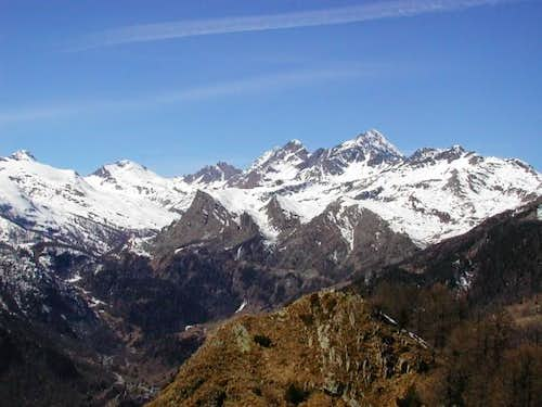 The Dondena Valley; the Mont...
