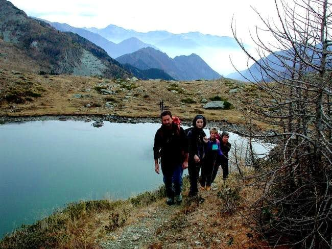 The Vercoce Lake, the second...