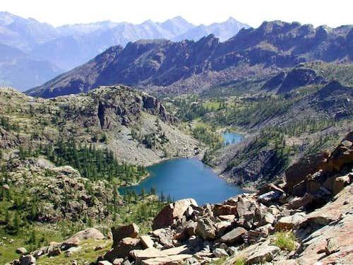 Lago Bianco e Lago Cornuto,...
