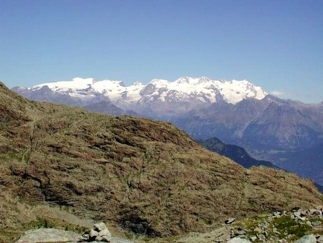 The Monte Rosa Group, view at...