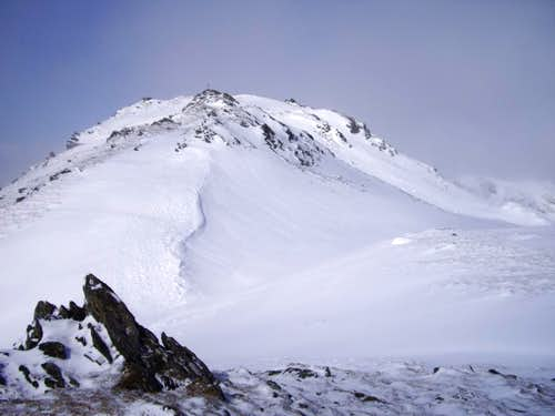 Ben Ledi summit ridge