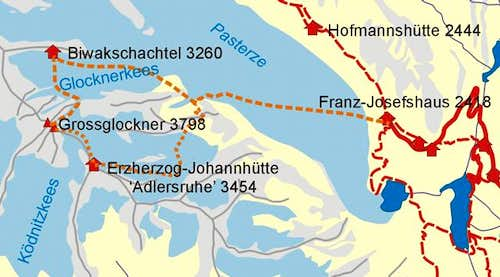 Route map of...