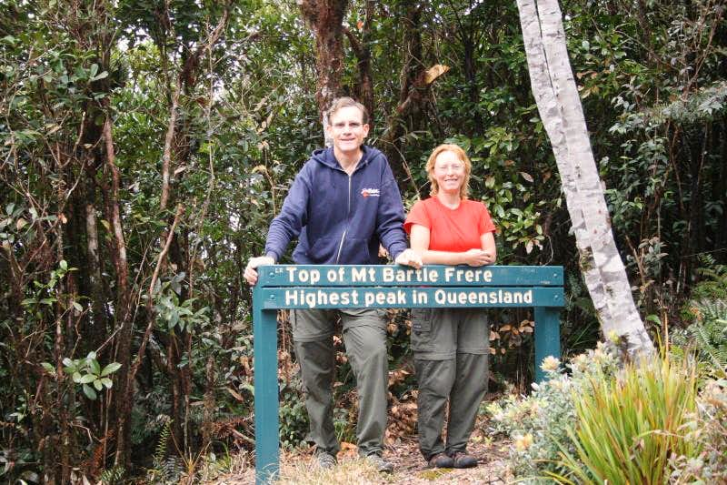 Mount Bartle Frere hike