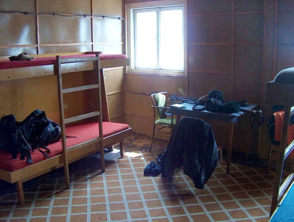 Room in Horský Hotel Králova Strudňa, in my opinion Slovakia's worse mountain hut, and probably the worse I have ever seen in my life...