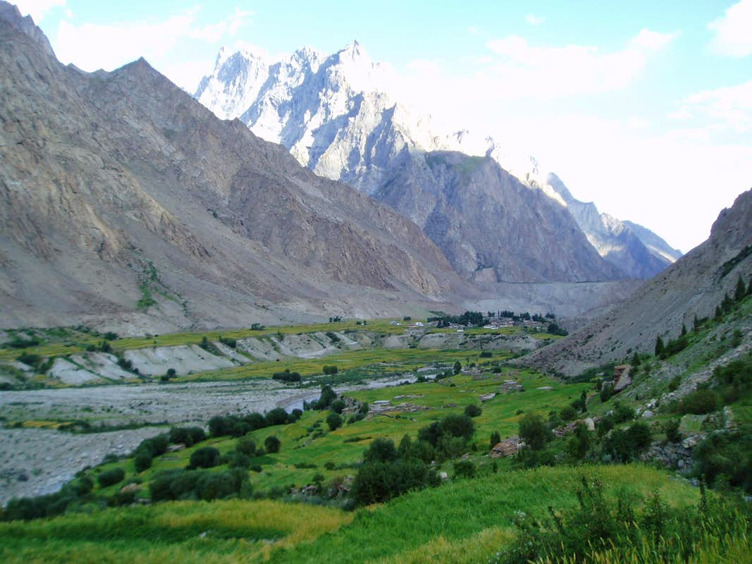 Husshe karakoram north Pakistan