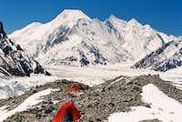Chogolisa from Braod peak base camp