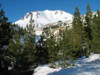 Lassen Peak from Devastation...