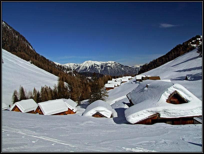 Dolinca/Dolinza alpine meadow