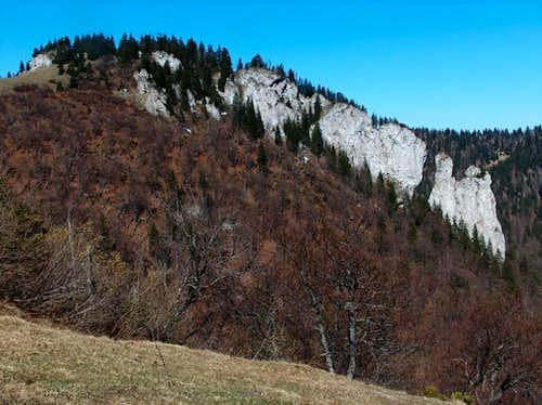 This region of the Veľká Fatra has many interesting limestone formations
