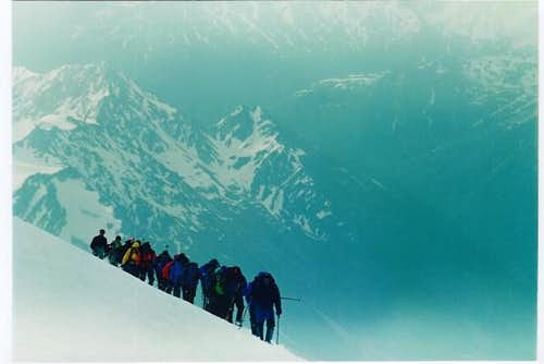 Traverse , Mt. Elbrus