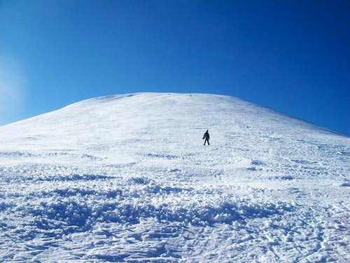 Last hill to the summit