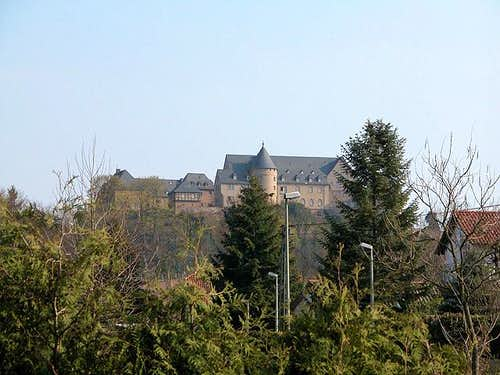 Ebernburg seen from the town...