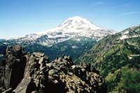 Rainier from Double Peak