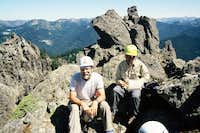 Summit photo. Double Peak