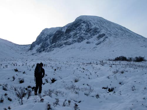 Approaching the North side of Ben Nevis