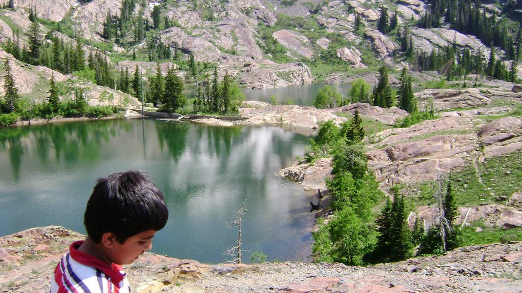 Lake Florence and Lillian