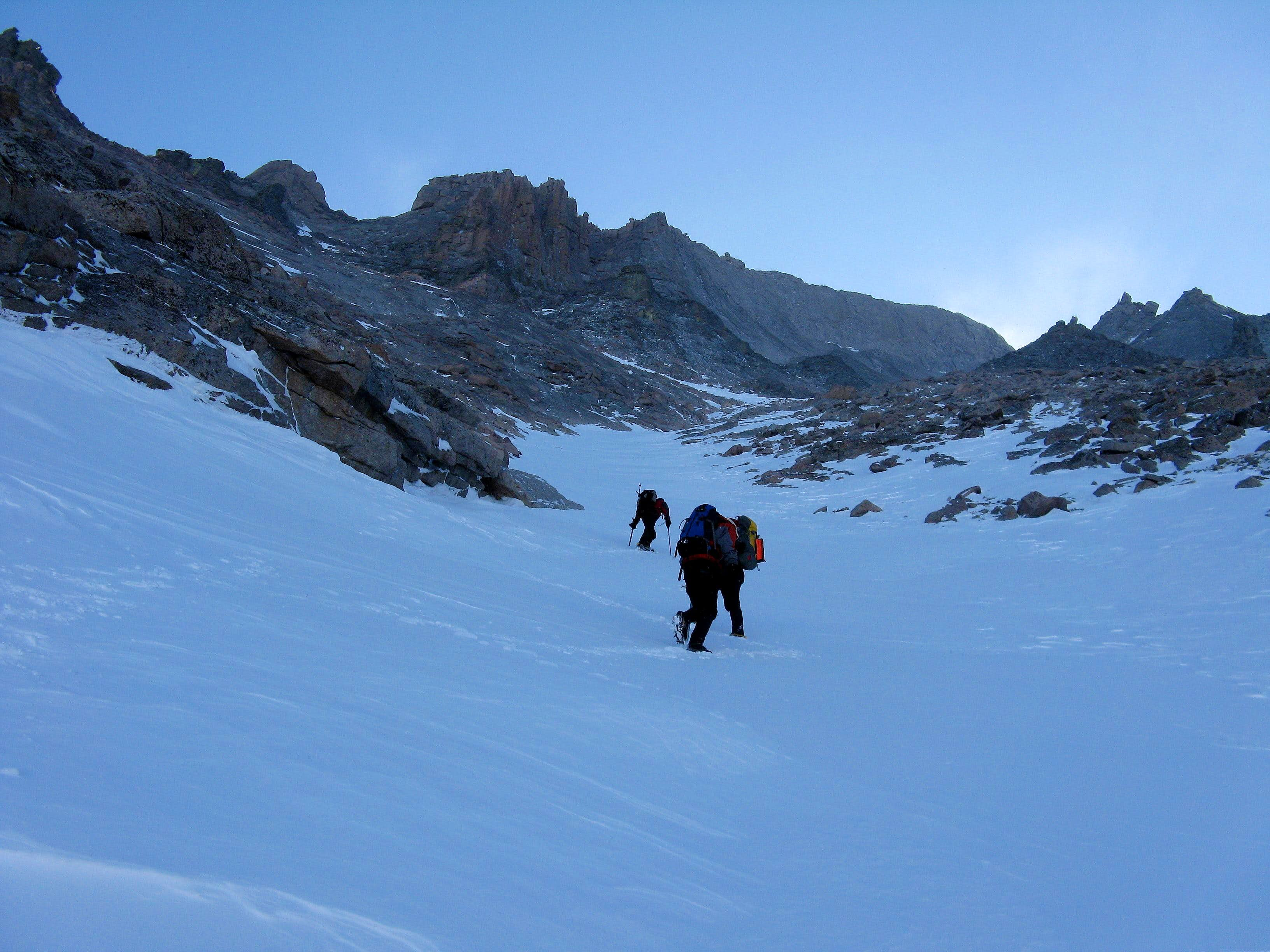 Longs Peak via the Trough in Winter: A Test of Fortitude