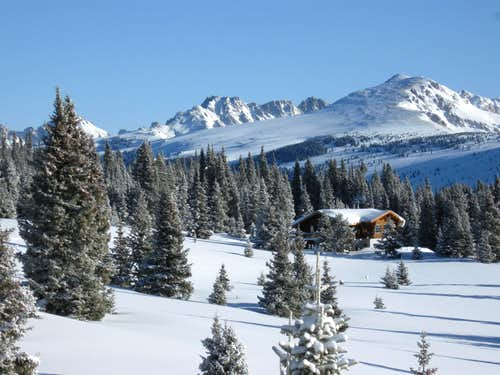 Walters Cabin and the Gore Range