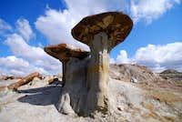 mushroom-shaped hoodoo