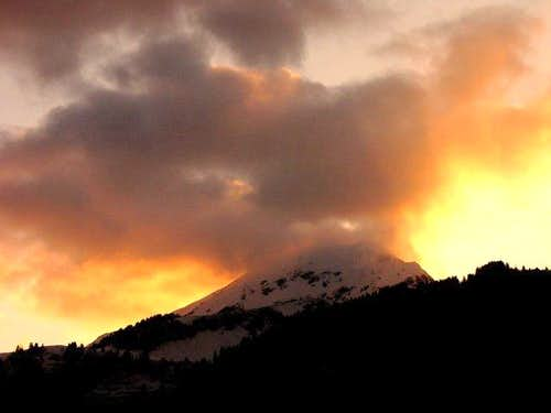 Mont de Grange - Sunset (11...
