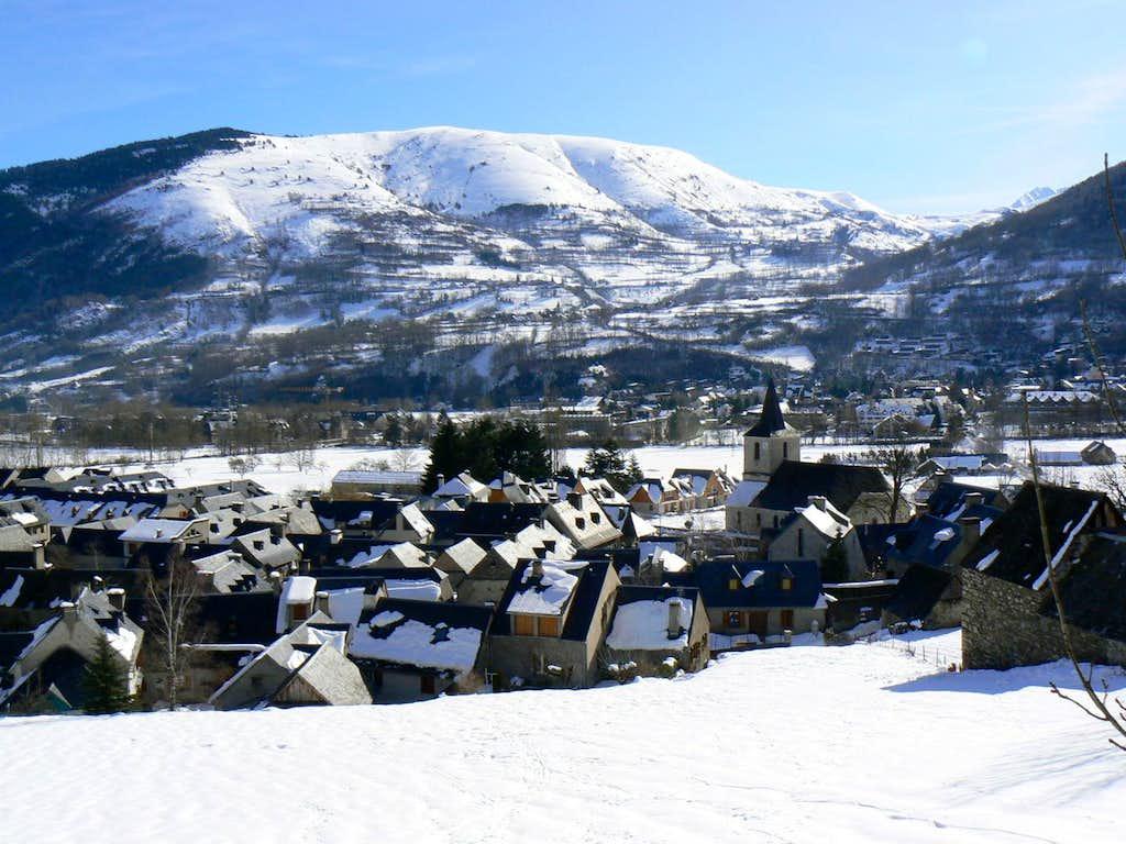 Snowy Pyrenees