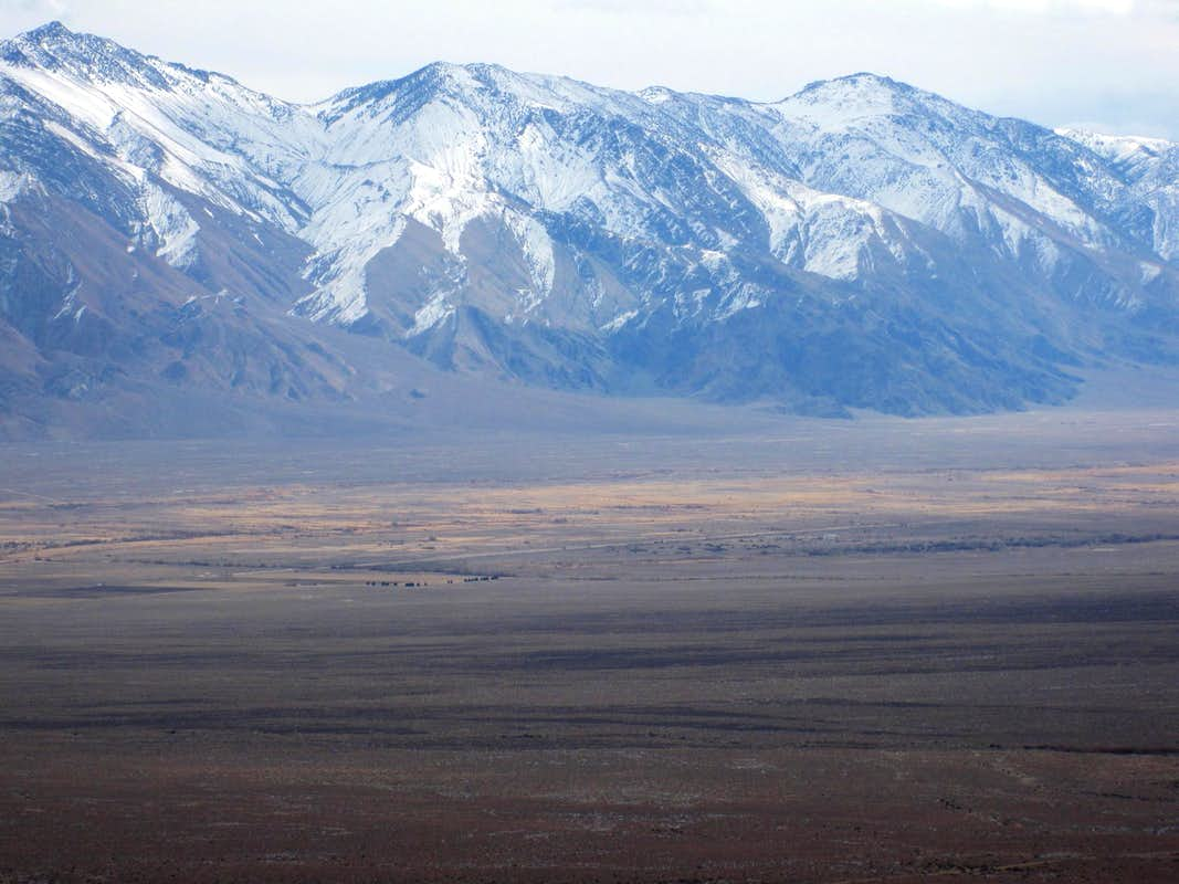 Across Owens Valley