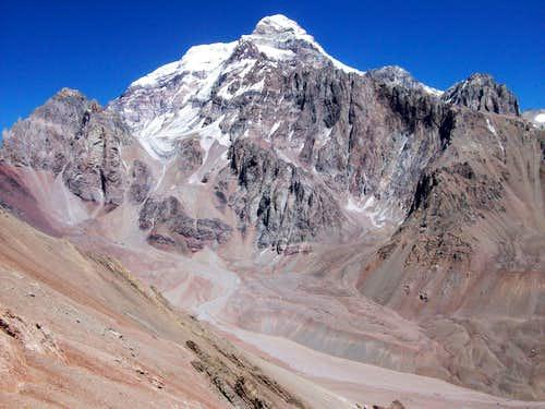 Cerro Aconcagua and Cerro Colorado