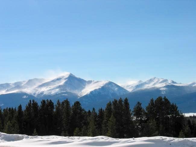 Mt. Elbert winter 2004.