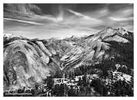 Looking Back at Yosemite Valley