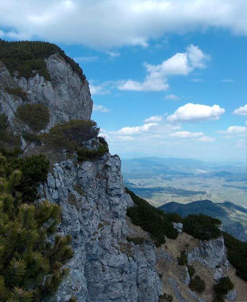 The East cliffs of Veľký Choc