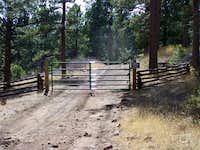 Fire Road Gate